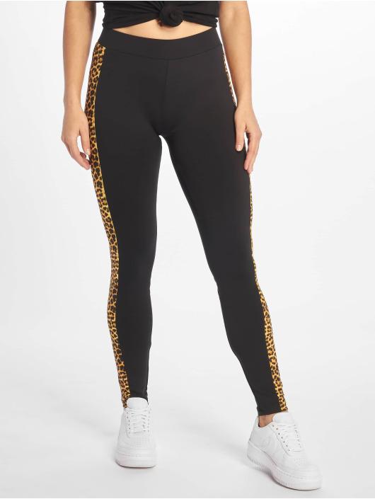 Urban Classics Leggings/Treggings Side Striped Pattern svart