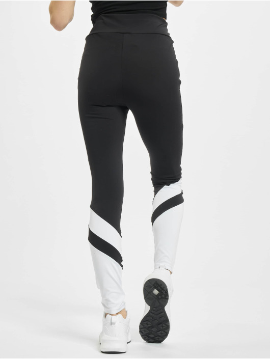 Urban Classics Leggings/Treggings Ladies Arrow High Waist svart