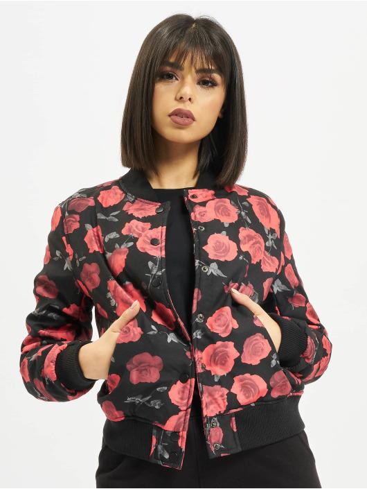 Urban Classics Letecká bunda Roses čern