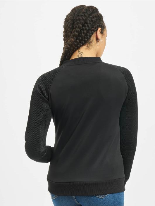Urban Classics Lightweight Jacket Scuba Mesh Raglan black