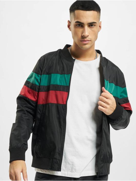 Urban Classics Lightweight Jacket Striped black
