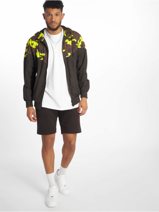 Urban Classics Lightweight Jacket Pattern Arrow black