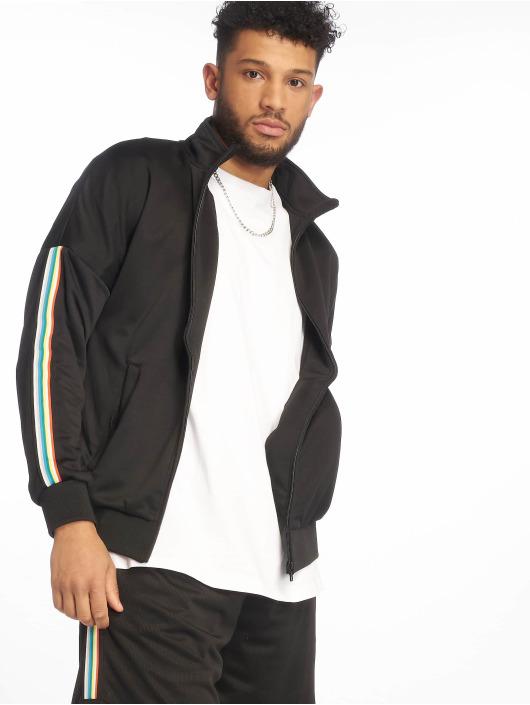 Urban Classics Lightweight Jacket Sleeve Taped Track black