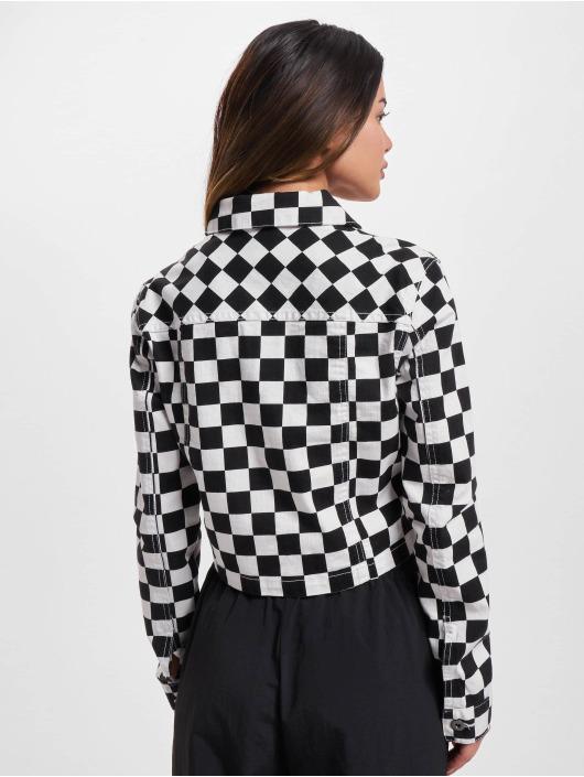 Urban Classics Lightweight Jacket Short Check black