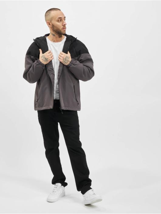 Urban Classics Lightweight Jacket 2-Tone Padded black