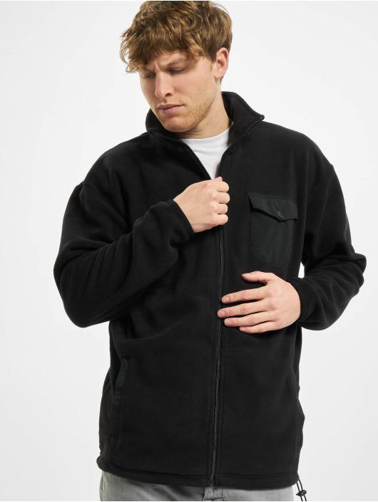 Urban Classics Lightweight Jacket Polar Fleece black