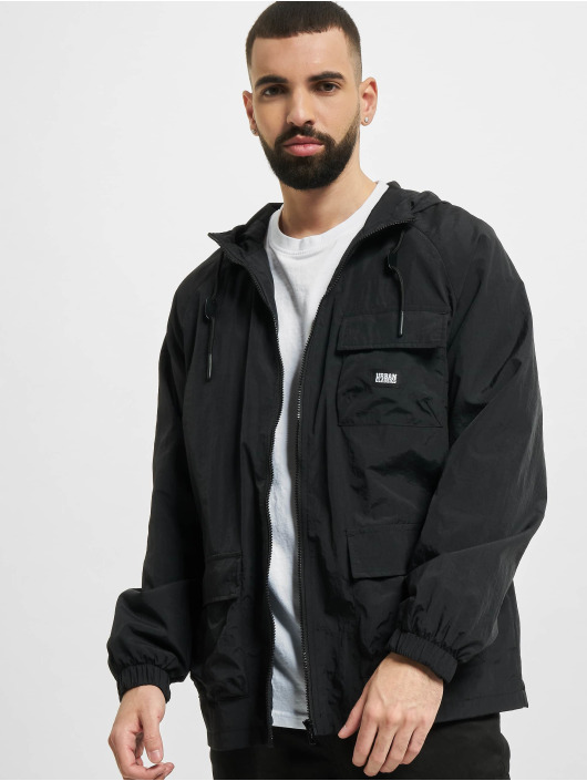 Urban Classics Lightweight Jacket Commuter Parka black