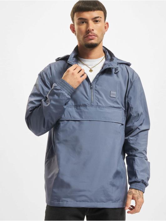 Urban Classics Lightweight Jacket Hidden Hood blue