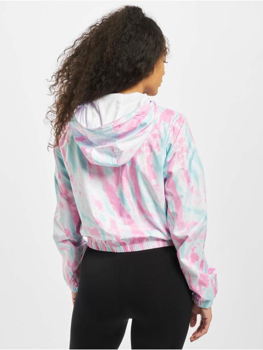 Urban Classics Lightweight Jacket Tie Dye blue