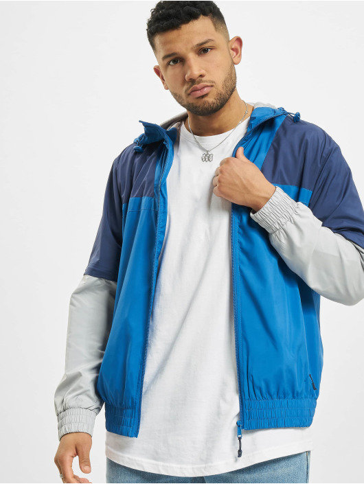 Urban Classics Lightweight Jacket Zip Away blue