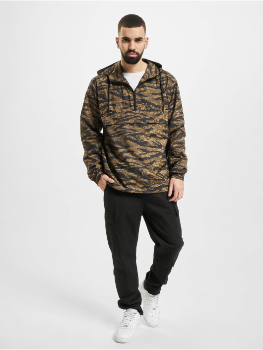 Urban Classics Lightweight Jacket Tiger Camo camouflage