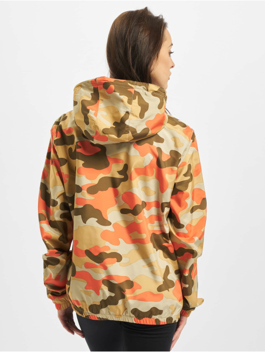 Urban Classics Lightweight Jacket Ladies Camo Pull Over camouflage
