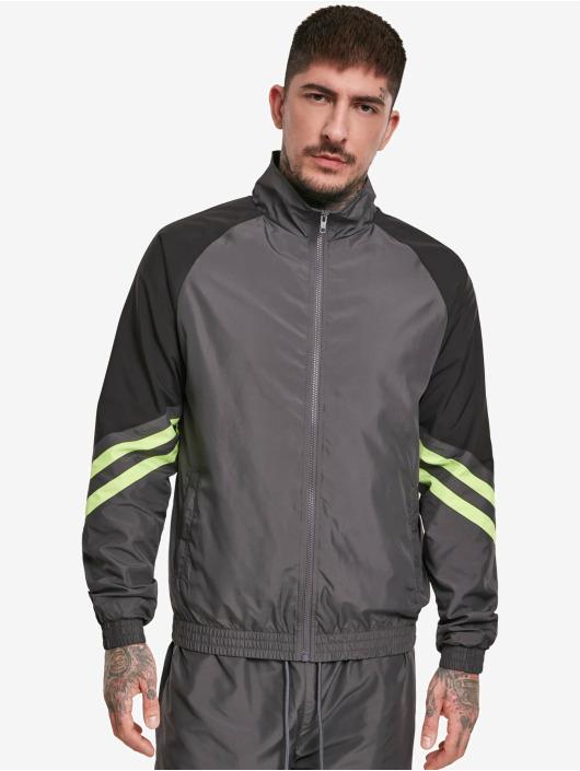 Urban Classics Lightweight Jacket Block Sport gray
