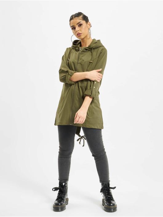 Urban Classics Lightweight Jacket Terry olive