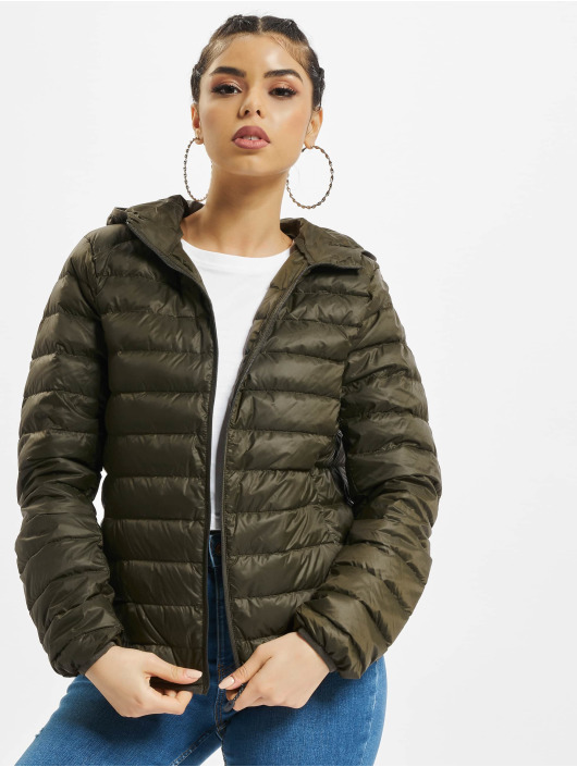 Urban Classics Lightweight Jacket Basic Hooded Down olive
