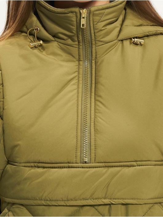 Urban Classics Lightweight Jacket Ladies Oversized Diamond Quilted olive