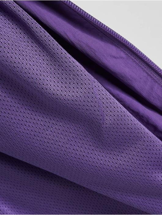 Urban Classics Lightweight Jacket 3-Tone Crinkle purple