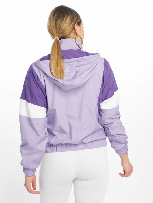 Urban Classics Lightweight Jacket Light 3-Tone Pull Over purple