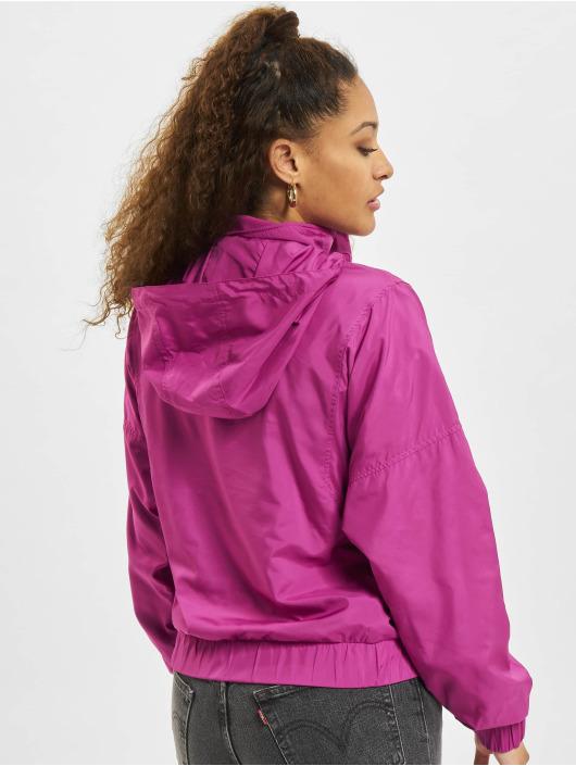 Urban Classics Lightweight Jacket Panel Pull Over purple
