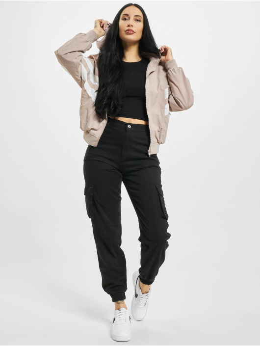 Urban Classics Lightweight Jacket Crinkle Batwing rose