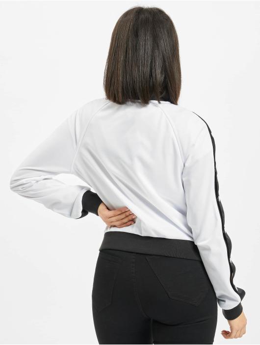 Urban Classics Lightweight Jacket Button Up white