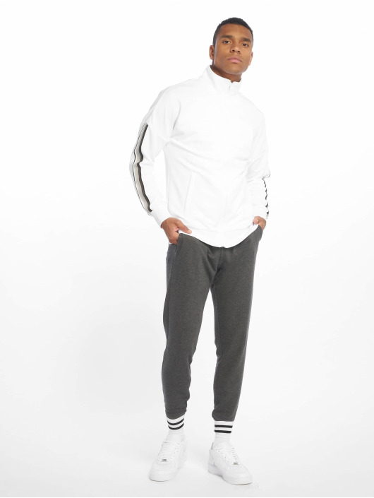 Urban Classics Lightweight Jacket Sleeve Taped white