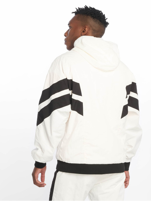 Urban Classics Lightweight Jacket Crinkle Panel white