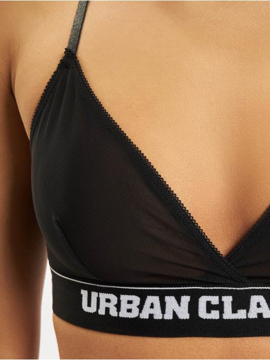 Urban Classics Lingerie Triangle Tech Mesh Logo noir