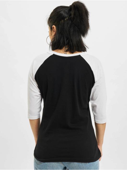 Urban Classics Longsleeve 3/4 Contrast Raglan black