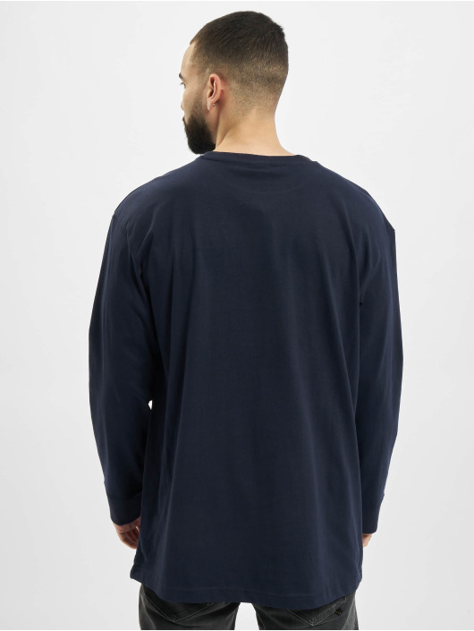 Urban Classics Longsleeve Hiking Patch LS blue