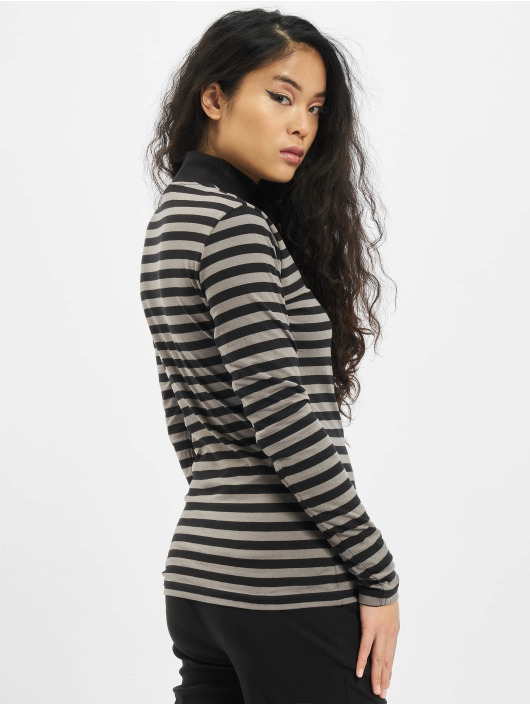 Urban Classics Longsleeve Ladies Y/D Turtleneck LS grijs