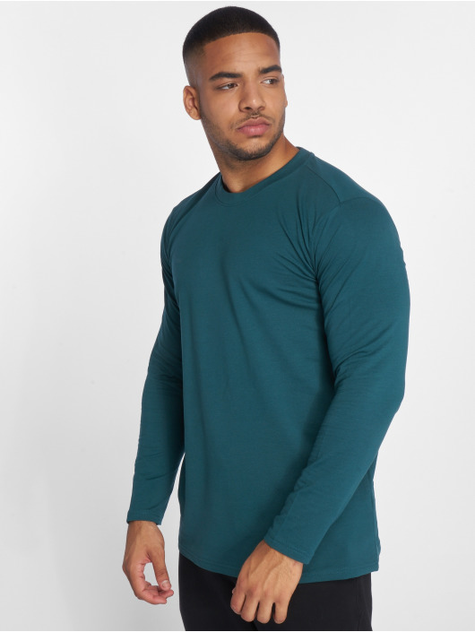Urban Classics Longsleeve Stretch Terry grün