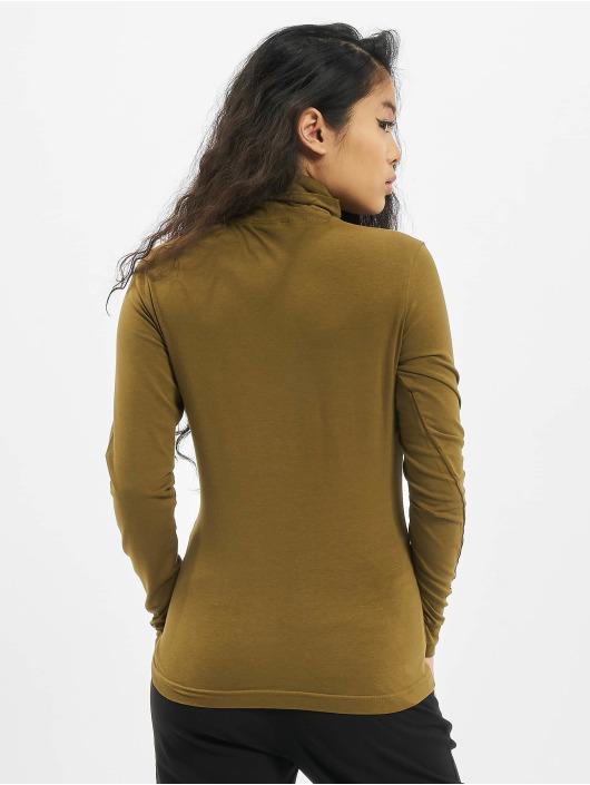 Urban Classics Longsleeve Ladies Basic Turtleneck LS olijfgroen