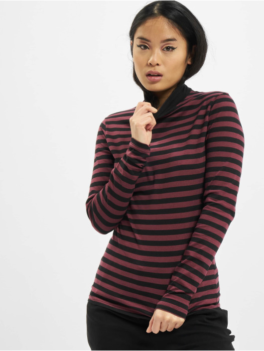 Urban Classics Longsleeve Ladies Y/D Turtleneck LS red