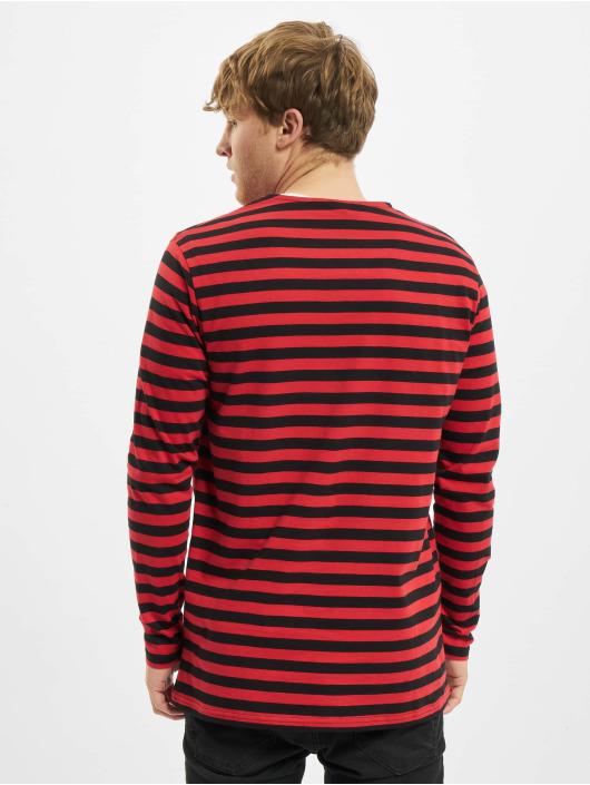 Urban Classics Longsleeve Regular Stripe LS rot