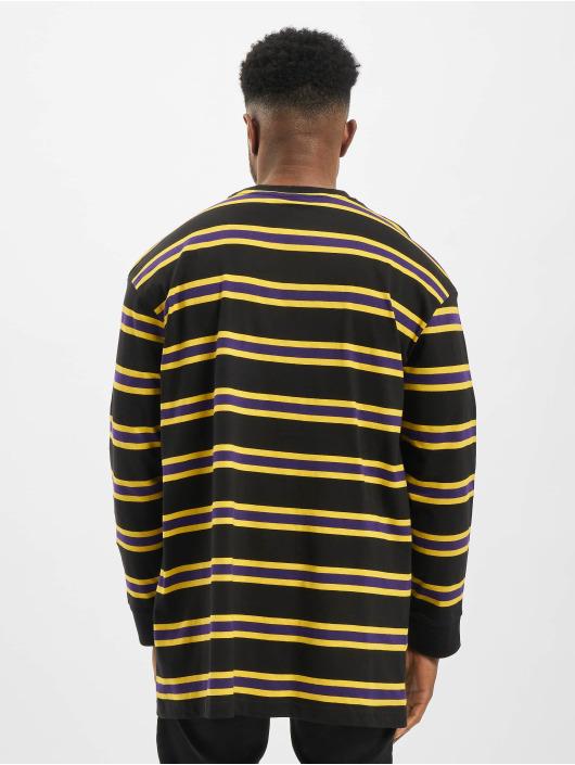 Urban Classics Longsleeve Yarn Dye schwarz