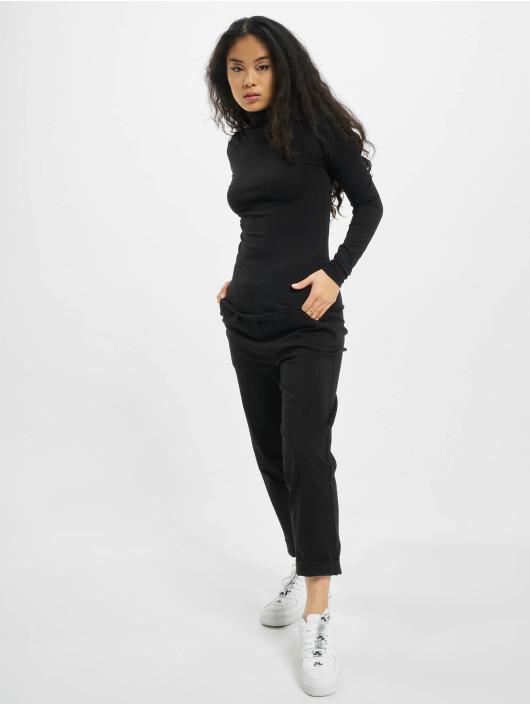 Urban Classics Longsleeve Puffer Sleeve schwarz