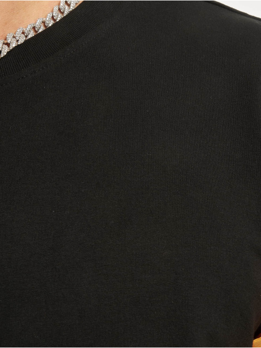 Urban Classics Longsleeve Stretch Terry zwart