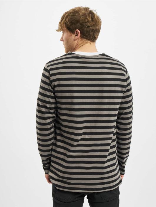 Urban Classics Longsleeves Regular Stripe LS šedá