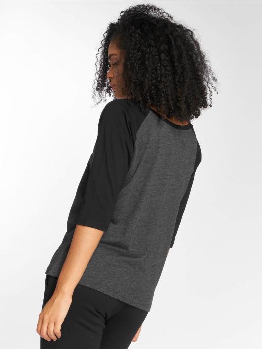 Urban Classics Longsleeves Ladies 3/4 Contrast Raglan czarny