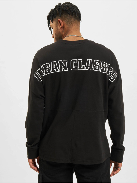 Urban Classics Longsleeves Oversize Cut On Sleeve Logo czarny