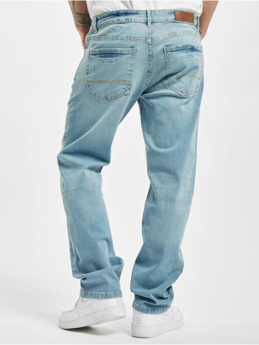Urban Classics Loose fit jeans Relaxed Fit blauw