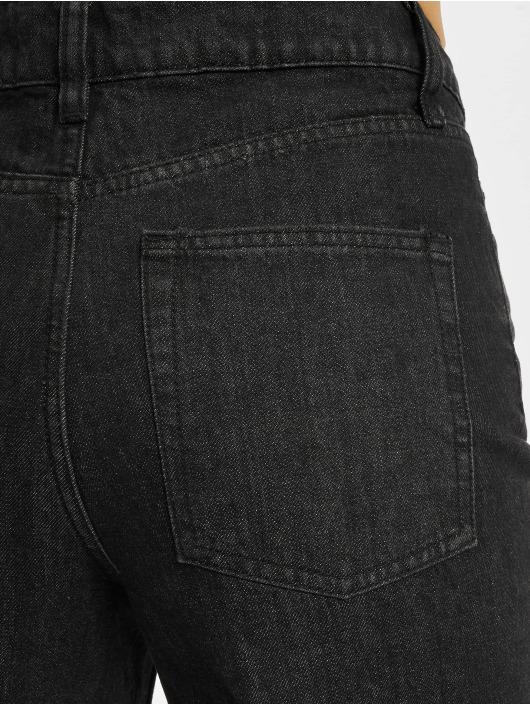 Urban Classics Loose Fit Jeans Denim Culotte czarny