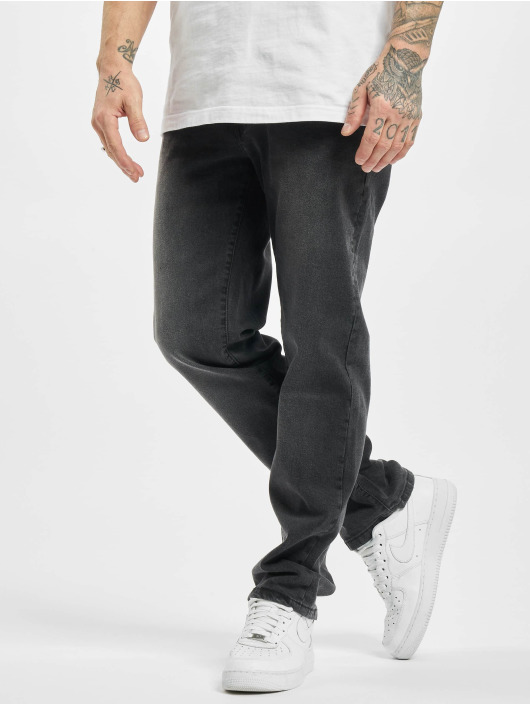 Urban Classics Loose Fit Jeans Relaxed Fit czarny