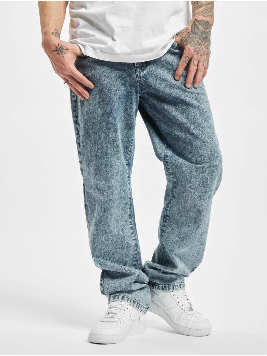 Urban Classics Loose Fit Jeans Loose Fit niebieski