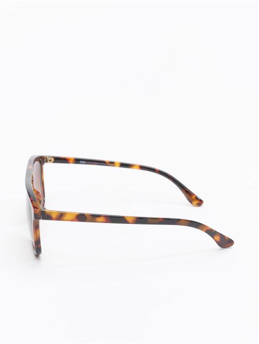 Urban Classics Lunettes de soleil Sunglasses Mykonos With Chain brun