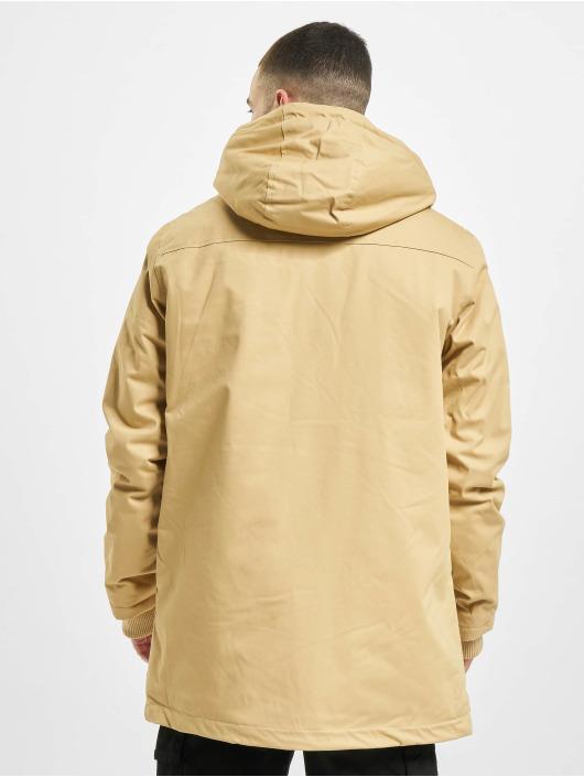 Urban Classics Manteau hiver Heavy Cotton beige