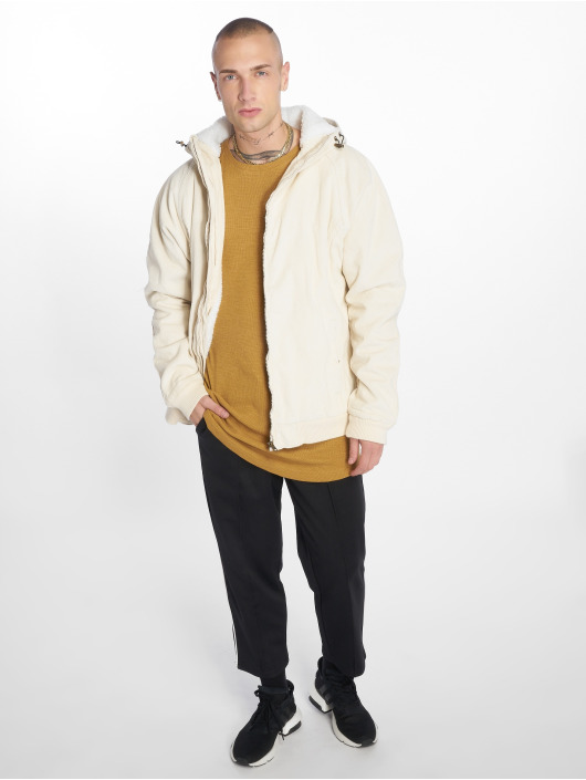 Urban Classics Manteau hiver Corduroy beige
