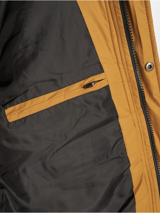 Urban Classics Manteau hiver Faux Fur brun