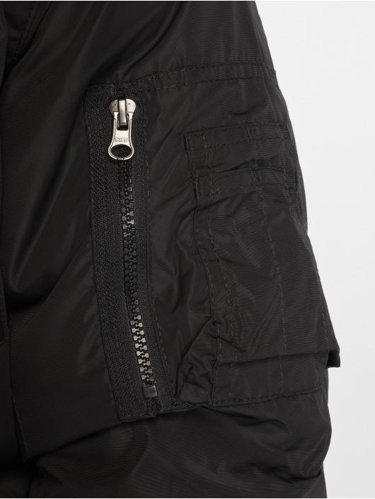 Urban Classics Manteau hiver Heavy noir
